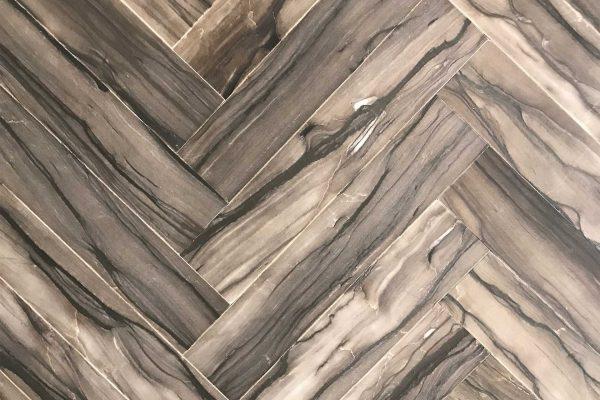 Sequoia Brown Herringbone